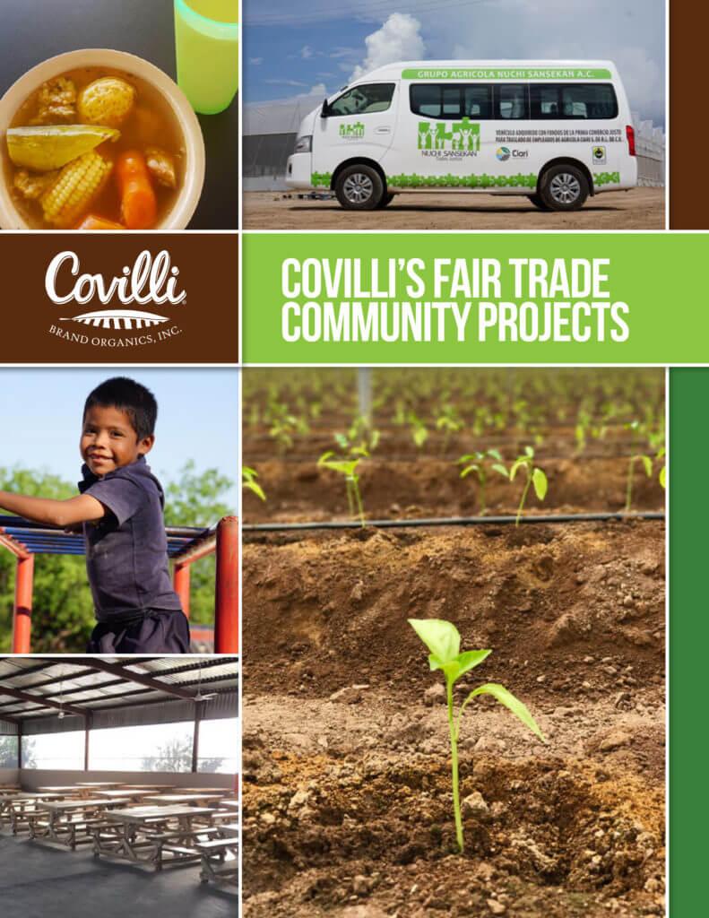 Covilli's Fair Trade Community Projects